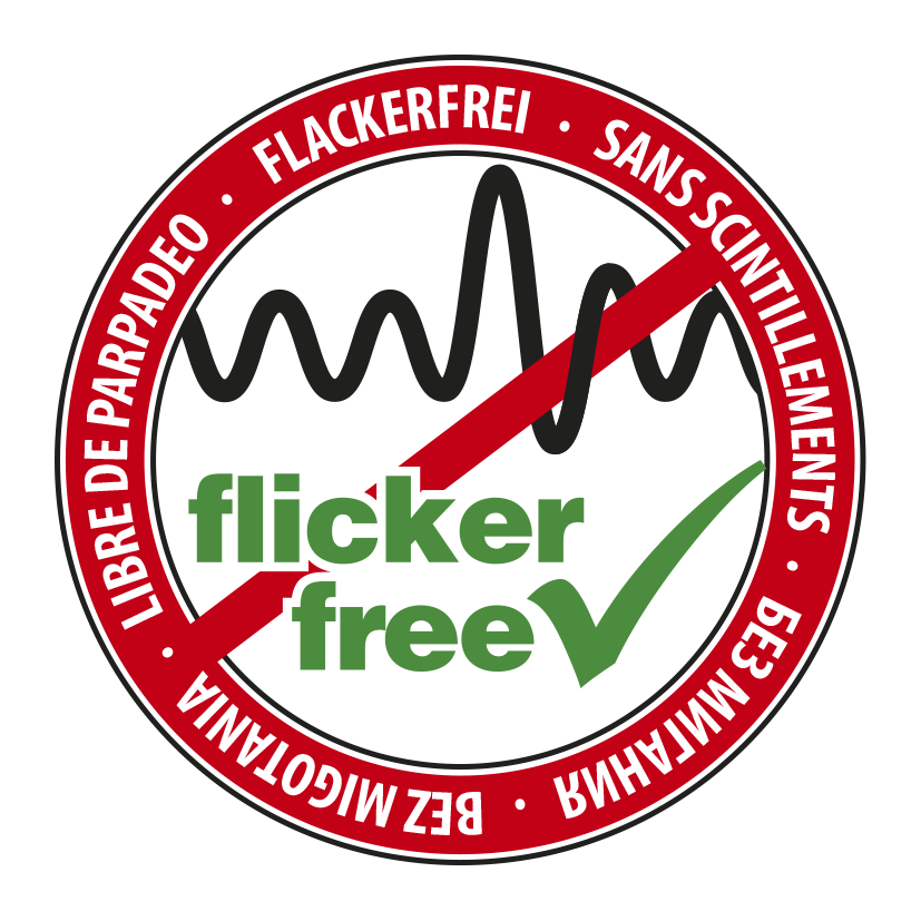 flickerfree badge
